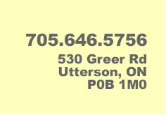 705-646-5756, 530 Greer Rd Utterson, ON P0B 1M0